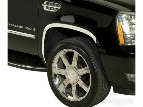 For 2007-2014 Cadillac Escalade ESV Stainless Steel Fender Trim Putco 25164PP