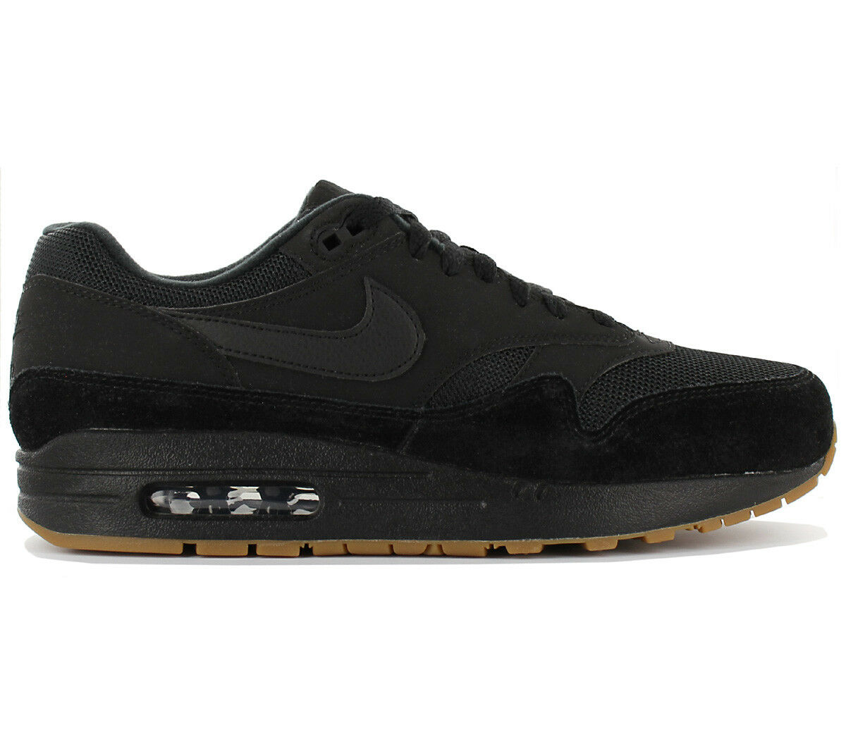 Nike Air Max 1 Baskets / Chaussures Homme Noir Classic de Sport Light AH8145-007