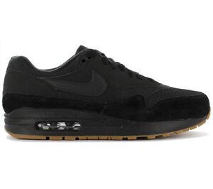 quality design e935c dd2e4 Nike Air Max 1 Premium Men's Sneakers Shoe Black Ah8145-007 Classic ...