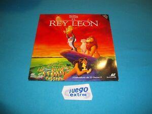 El Rey Leon Pelicula Film Español 1994 PAL LASER DISC Collectors NO CD NO DVD