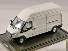 Oxford NFT006 N Gauge 1//148 Scale Ford Transit LWB High Top Van Dealer White