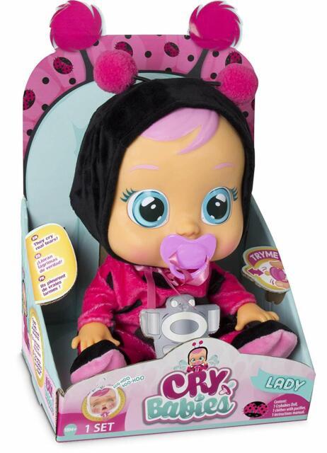 baby cry bambola
