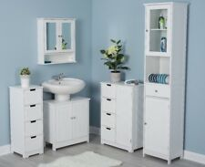 Wooden Bathroom Cabinet Storage Unit from 26.99