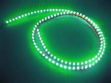 4ft 120cm 12V Green 120 LED Neon Flexible PVC Strip Light Auto car waterproof