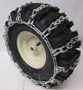 15 X 5 00 6 Deep Lug Tire Chains For Snow Blower