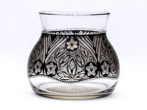 Steinschonau Enamelled Glass Vase Adolph Beckert C 1915 Ebay