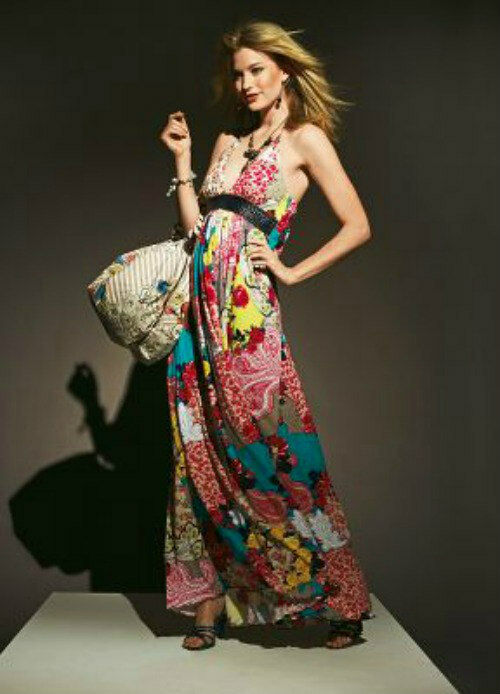 BRAND NEW FIRETRAP SUMMER MULTI MAXI DRESS COMPLETELY SOLD OUT Large 12-14