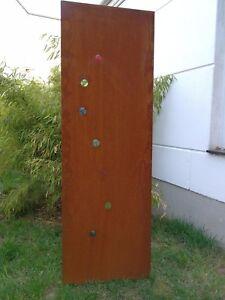 Details Zu Edelrost Garten Sichtschutz Rost Garten Sichtschutzwand Metall H150 50cm