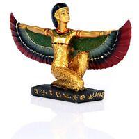 Isis Deesse Ailes Deployees Sculpture Statue
