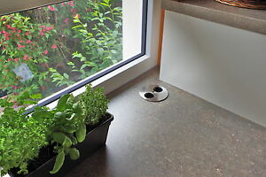 twist 2 fach einbausteckdose k chensteckdose edelstahl optik schutzkontakt neu ebay. Black Bedroom Furniture Sets. Home Design Ideas