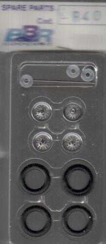 roues à rayons BBR 1//43e pour voitures années 45-55 référence R40