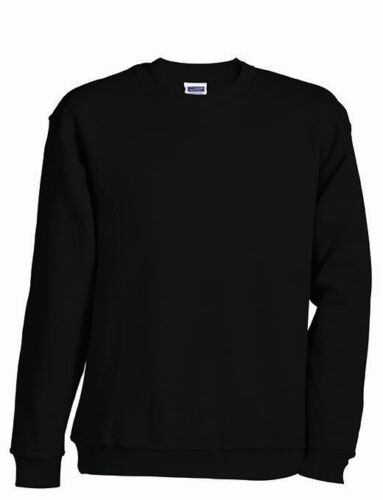 98-164 James /& Nicholson Kids Sweatshirt Kinder Pullover Pulli Shirt Gr