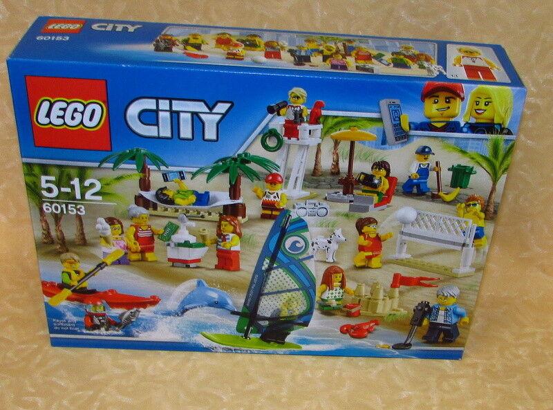 LEGO  città 60153 DIverdeIMENTO IN SPIAGGIA 5-12 anni cod.18902  in cerca di agente di vendita