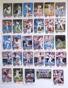 Dodger Stadium 30th Anniversary 1962 - 1992 Baseball Cards Lot of 29