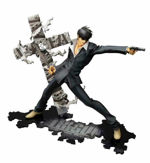 Kotobukiya Movie Trigun Badlands Rumble Artfx J Nicholas D Wolfwood Feb131676 For Sale Online Ebay