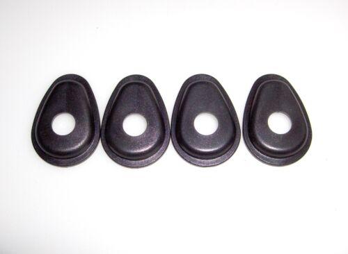 ►2X LED BLINKER AdapterPlatten YAMAHA TDM900,FZS1000 Fazer für vorne UND hinten