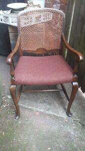 Image Is Loading Beautiful Art Deco 1930s Arm Chair Armchair Desk