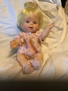 Vintage-DOLL-CHEERFUL-TEARFUL-WORKS-13-034-BABY-DOLL-1965-MATTEL