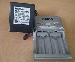 Hama -Ladegerät Set 4x AA Akku 230V mit Netzteil Hama 220125 - Deutschland - Hama -Ladegerät Set 4x AA Akku 230V mit Netzteil Hama 220125 - Deutschland