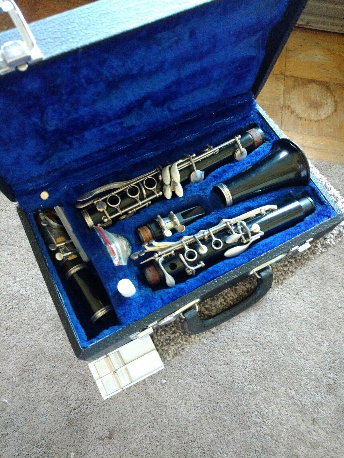 Mitchell Lurie Mundstück und Vintage Clarinet