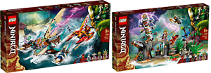 LEGO-Ninjago-71748-Duell-der-Katamarane-71747-Das-Dorf-der-Waechter-VORVERKAUF