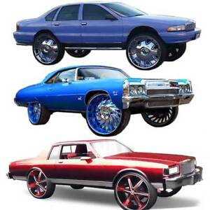 Details about Chevy Caprice Lift Kit Car Spring Spacers Universal Lifters  fit 22 24 26 28 Rims