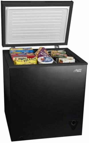 Garage Basement 5 cu ft Chest Freezer for Your House Apartment Kitchen NEW