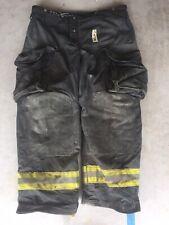 Firefighter Janesville Lion Apparel Turnout Bunker Pants 38x30 Black 2007