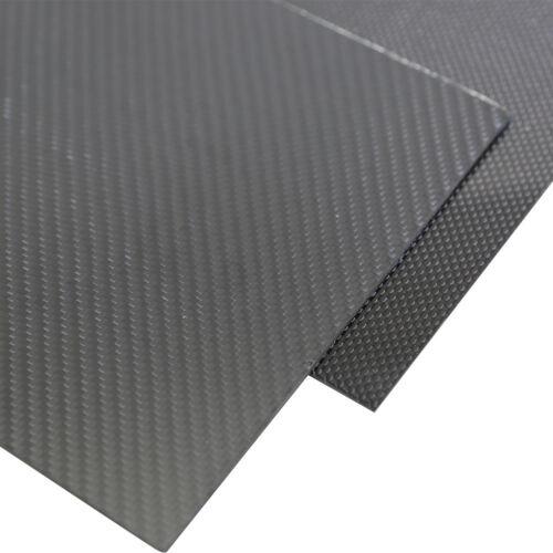 1Pc 2x400x500mm 3K piastra in fibra di CARBONIO spessore foglio pannello 2mm superficie lucida