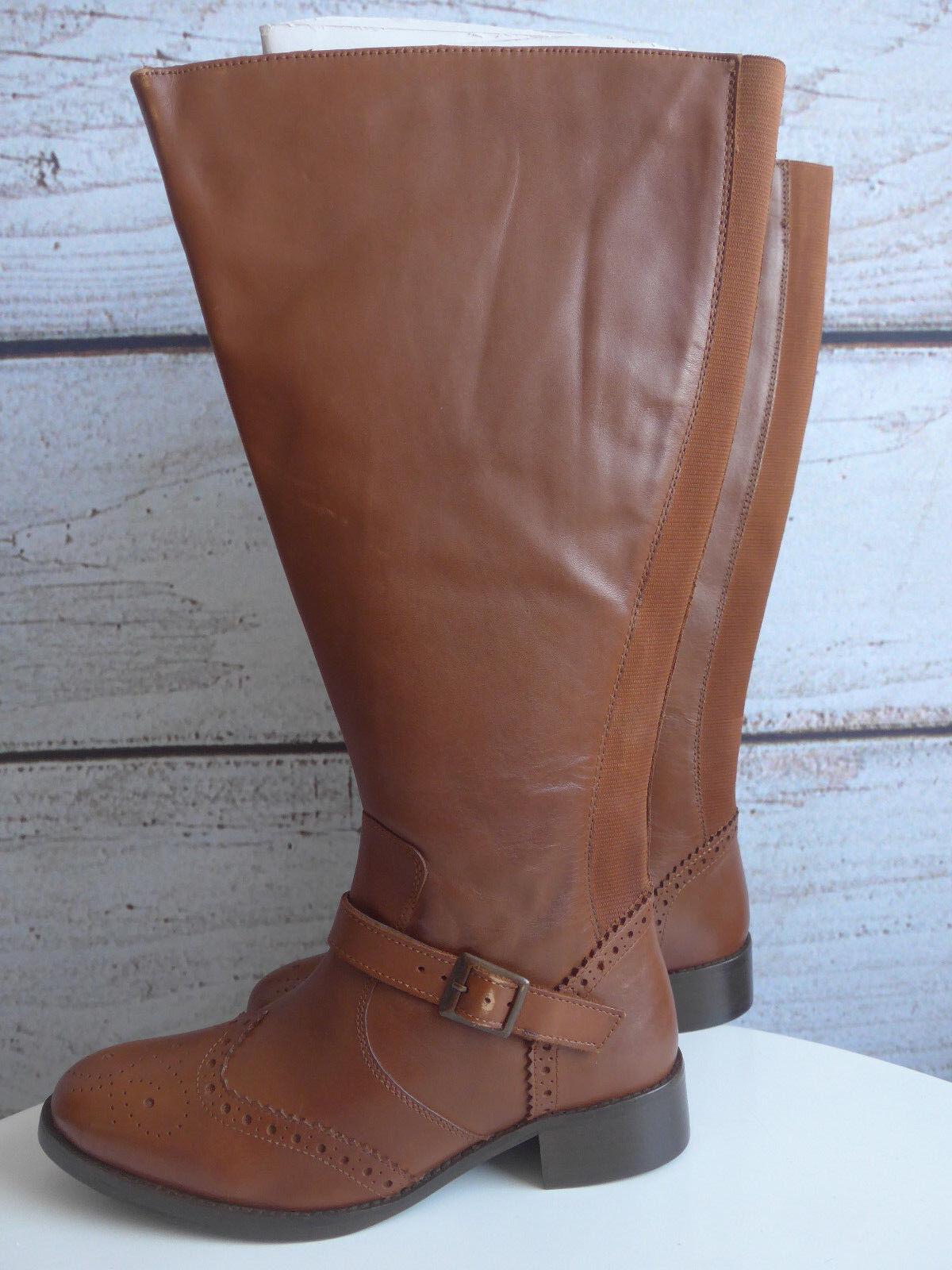 Sheego cuero XXL lejos de la hermandad botas botas marrón nuevo (976)