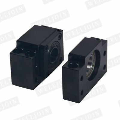 1pc BK20 and 1pc BF20 Ballscrew End Supports CNC