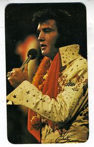 1976 RCA Records Elvis Presley Color Pocket Calendar (4
