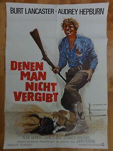 Audrey-Hepburn-DENEN-MAN-NICHT-VERGIBT-Burt-Lancaster-Plakat