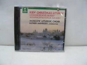 Details about Kiev Christmas Liturgy Moscow Liturgic Choir SEALED
