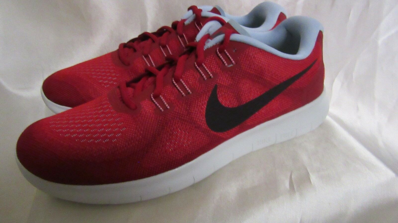 Uomo`S NIKE FREE NEW RN 2017 ATHLETIC SNEAKERS SIZE 9.5 M NEW FREE RED c138a9