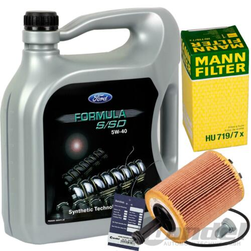 Homme Filtre à huile Ford Galaxy /& 1.9tdi Original Ford huiles de vidange huile Formula S//SD 5 W 40