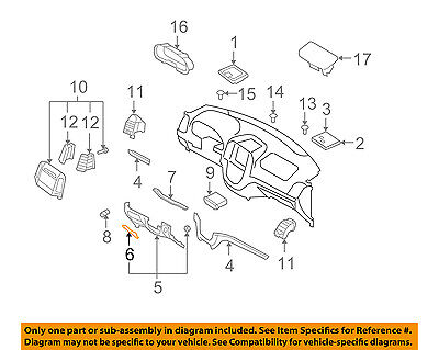 Genuine Hyundai 84752-26001-YD Junction Box Cover Assembly