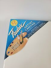 18 x 24 in White Pack of 2 Fredrix NEW Pre-Stretched Artist Canvas
