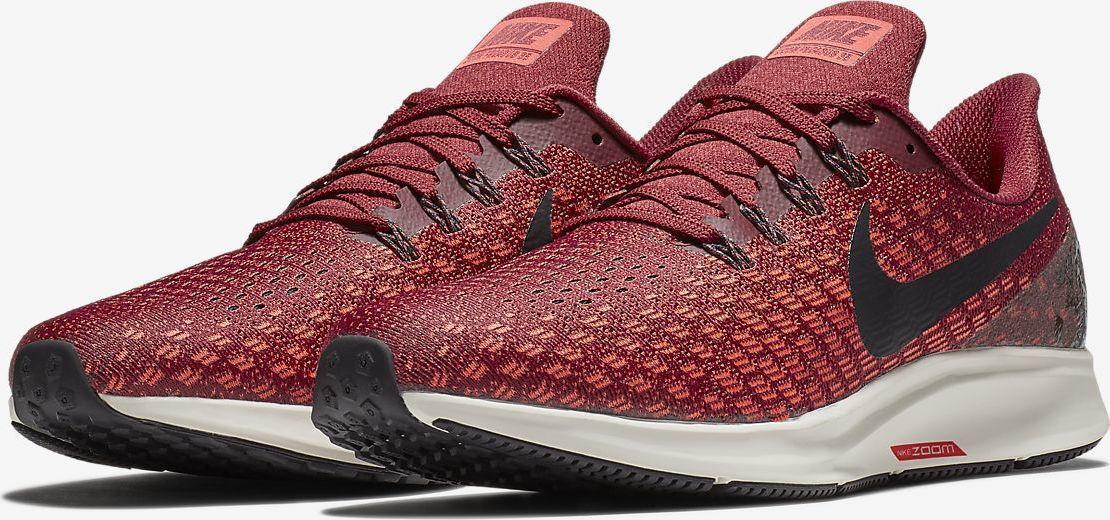 Nike Air Zoom Pegasus 35 Men's 942851-601 Running shoes Team Red Oil Grey