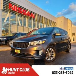 2017 Kia Sedona SX+ LOADED WITH LEARTHER, POWER DOORS, MEMORY SEAT