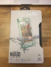 NEW SEALED! LifeProof NUUD Waterproof Dust Proof Case for iPhone 6s Plus in Blue