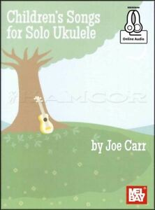 Details about Children's Songs for Solo Ukulele TAB Music Book/Audio  Lullabies Nursery Rhymes