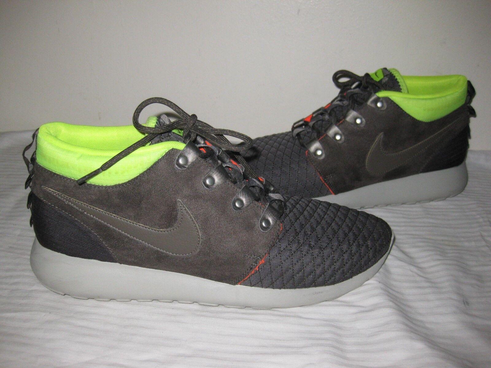 Nike Roshe Run Sneakerboot  615601-007 Men Comfortable Great discount