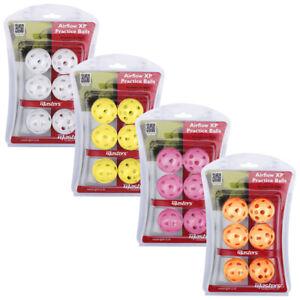 AIRFLOW-XP-Practice-Balls-Golf-Ubungsbaelle-Luftbaelle-div-Farben