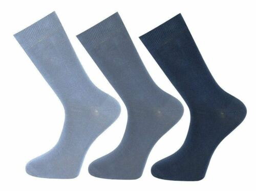 Mens Cotton Rich RJM 3 pack Everyday Socks SK147