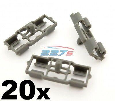 20x Grigio in Plastica Clip per BMW Porta Cofano Baule Guarnizione di Tenuta