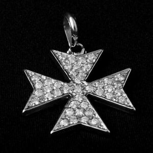 image s ebay gerochristo loading cross handmade pendant maltese is and gold itm silver