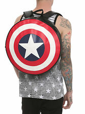 Marvel Comics Avengers Captain America Shield Backpack Book Bag WINTER SOLDIER