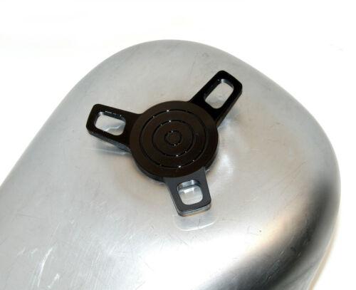 BLACK 3-WING SPINNER SCREW-IN GAS CAP VENT 1996-13 HARLEY CUSTOM CHOPPER BOBBER