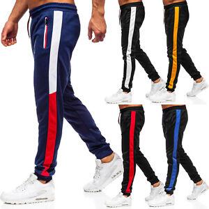 Jogginghose Sporthose Hose Trainingshose Slim Fit Motiv Herren Mix BOLF Classic